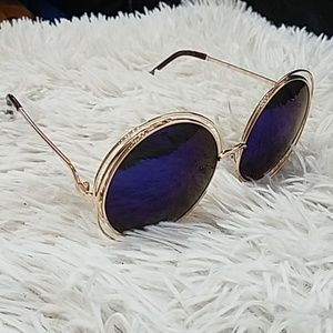 Accessories - Halo Double Round Frame Sunglasses
